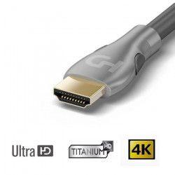 HDELITE Câble HDMI 2.0 Ultra HD 4K / 3D 1m