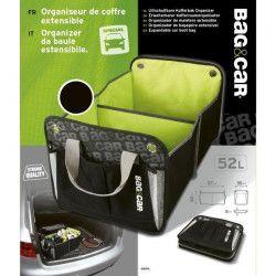 BAG&CAR Organiseur de coffre extensible 52L