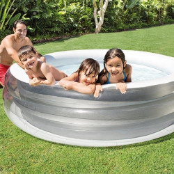 INTEX Piscine gonflable Ronde Quartz 32 cm