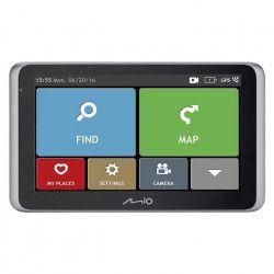 MOI MiVue Drive 55 LM GPS voiture - Caméra embarquée extreme Full HD 140° - Aide a la conduite - GPS Intégré -