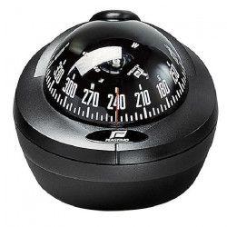 PLASTIMO Offshore 75 Compas avec mini fût - Zone A / B / C - Rose noire - Noir