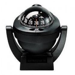 PLASTIMO Offshore 75 Compas sur étrier - Zone A / B / C - Rose noire - Noir