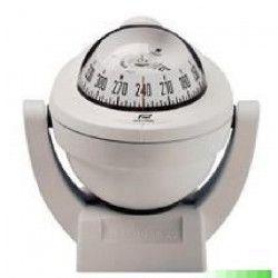 PLASTIMO Offshore 75 Compas sur étrier - Zone A / B / C - Rose blanche - Blanc
