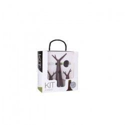 Kit Foret noir - 1 tire-bouchon, 1 housse rafraichissante et 2 bouchons.