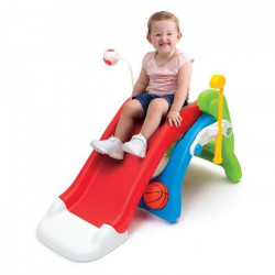 GROW`N UP Aire de jeux 1er âge 6 in1 (toboggan, basket, foot ...)