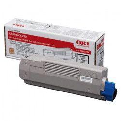 OKI Cartouche toner 43865724 - Compatible C5850/C5950 - Capacité standard 8.000 pages - Noir