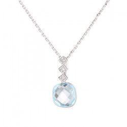 OR & CARAT Collier Or 375° et Diamant