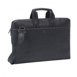 RIVACASE 15,6? Sacoche Notebook/ Laptop / Ordinateur Portable Sac a Main/ Sac a Bandouliere en simili cuir Série