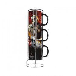 STAR WARS Mugs 3 pcs Black First Order