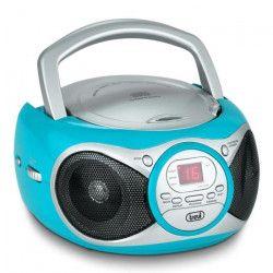 TREVI 0051213 Radio CD Portable - 3,5 mm - Turquoise