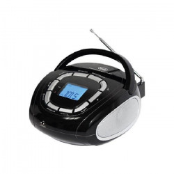 TREVI 0KB50800 Mini Radio - 3,5 mm - Noir