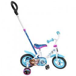 LA REINE DES NEIGES Vélo 10` Avec Pignon Fixe Et Canne - Disney