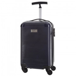 STEVE MILLER - YOUNG Valise Cabine Rigide 4 Roues - Argent