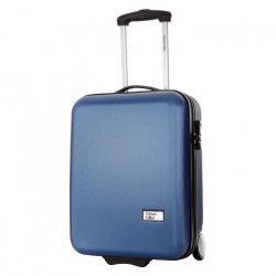 STEVE MILLER - HOVER Valise Cabine Rigide 2 Roues - Bleu