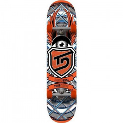 TRUE DRIVE Skateboard Red Eye