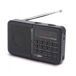 CALIBER HPG 312R Radio FM portable noir - USB / SD / AUX / FM