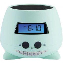 KIDS BIGBEN RPE03 Réveil `My Ozzy` avec projecteur et enrigistreur de voix - Vert