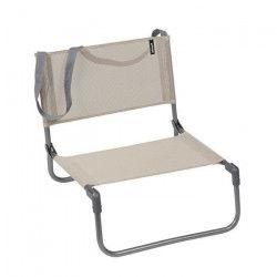 LAFUMA Chaise Basse Pliable - Beige