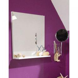 SLASH Miroir de salle de bain L 60 cm - Blanc