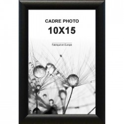 CLASSICA Cadre photo 10x15 cm Noir mat