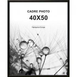 ALTANA Cadre photo 40x50 cm Noir mat
