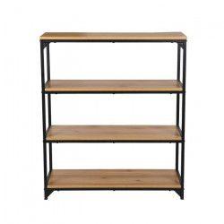 FINLANDEK Etagere meuble TEOLLINEN style industriel - L 88 cm