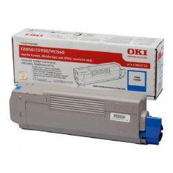 OKI Cartouche toner 43865723 - Compatible C5850/C5950 - Capacité standard 6000 pages - Cyan