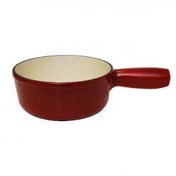 SCHWARZ Caquelon à fondue 17 cm Rouge - Classic