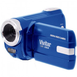 VIVITAR DVR908MFD-BLU Camescope numérique Full HD 1080 P - 10 Mpx- Bleu