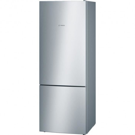 BOSCH KGV58VL31S - Réfrigérateur combiné - 500 L (376 L + 124 L) - Froid low frost grande capacité- A++ - L 70