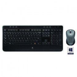LOGITECH pack clavier-souris sans fil - MK520