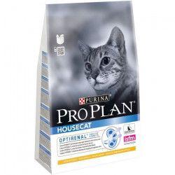 PRO PLAN Croquettes au poulet Housecat - Pour chat adulte - 3 kg