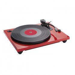 BIGBEN TD114R Tourne disques glossy, PC encoding - Rouge