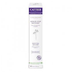 CATTIER Soin de Jour Matifiant Bio Fleur d`Emulsion peaux mixtes a grasses 50 ml