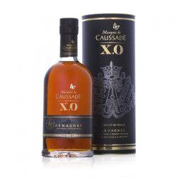 Marquis de Caussade - Armagnac XO - 40% - 70 cl + Etui
