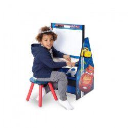 CARS 3 - Centre d`Activités 4 en 1 Enfant - Bleu