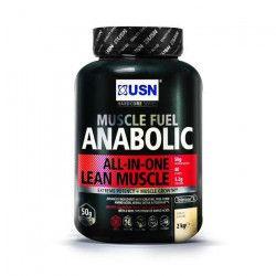 USN Muscle Fuel Anabolic 2 kg Vanille Prise de Masse
