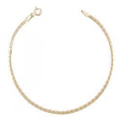 Les Bijoux d`Emma - Bracelet Maille Haricot - OR 9CT