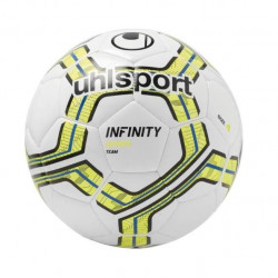 UHLSPORT Ballon de football Infinity Team - Blanc et jaune - Taille 4