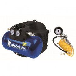 MICHELIN Compresseur coaxial avec accessoires - 1,5 CV - 6 L