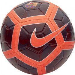 NIKE Ballon de football FC Barcelone 3RD 17 - Mixte - Noir et orange