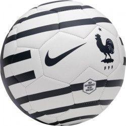 NIKE Ballon de football FFF Prestige 18 - Noir et bleu