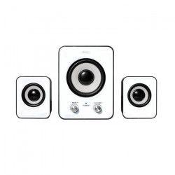 ADVANCE Enceinte SP-U803WT Soundphonic systeme 2.1 - 6 W - PC / Mac - Blanc