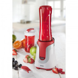 DOMO DO434BL Blender - Blanc/Rouge