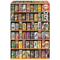 EDUCA Puzzle 1500 Pieces - Cannettes