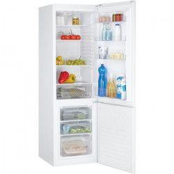 CANDY CCS5172W - Réfrigérateur combiné - 262 L (200 + 62 L) - Froid statique - A+ - L 55 x H 177 cm - Blanc