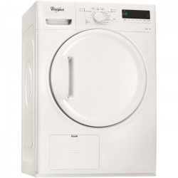WHIRLPOOL DELX70112 - Seche linge frontal - 7 kg - Condensation - Classe B - Blanc