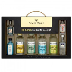 Coffret Mixologie 4 Gins 5 cl & 4 Tonic Fever-Tree 20 cl