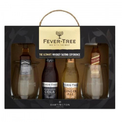 Coffret Mixologie 2 Whiskey 5 cl & 2 Tonic Fever-Tree 20 cl + 2 Verres