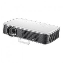Vivitek Qumi Q8 Blanc - Vidéoprojecteur de poche DLP a LED Full HD 1000 Lumens Wi-Fi avec entrée HDMI